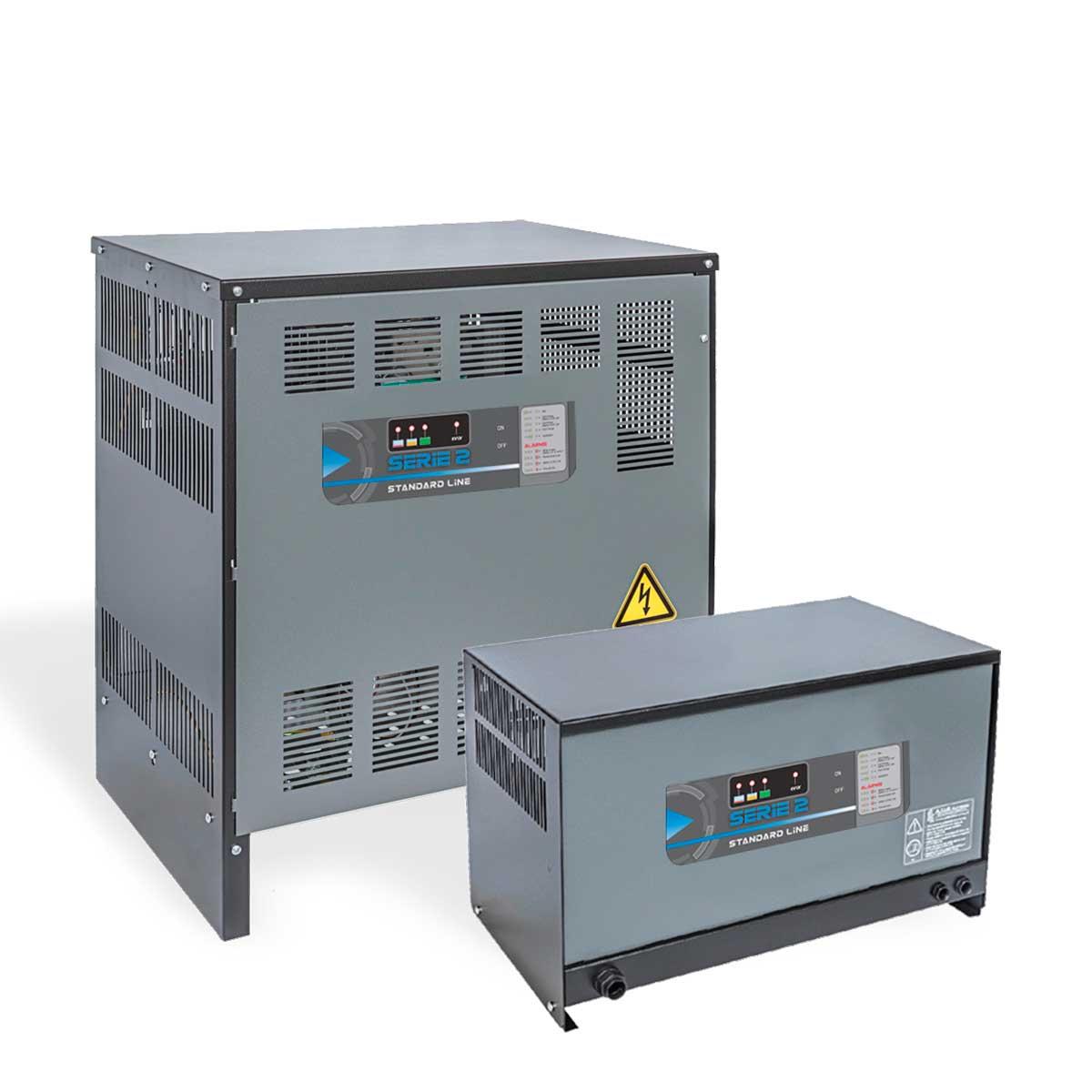 Cargadores de baterías para plomo ácido, Brescia, Italia, ATIB Elettronica