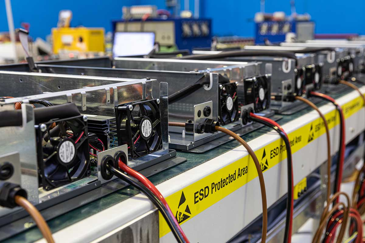 Chargeurs pour Batteries Industrielles, ATIB Elettronica, Italy