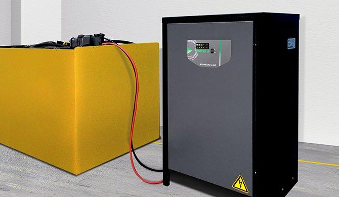 Industrielle Batterieladegeräte, ATIB Elettronica, Italien