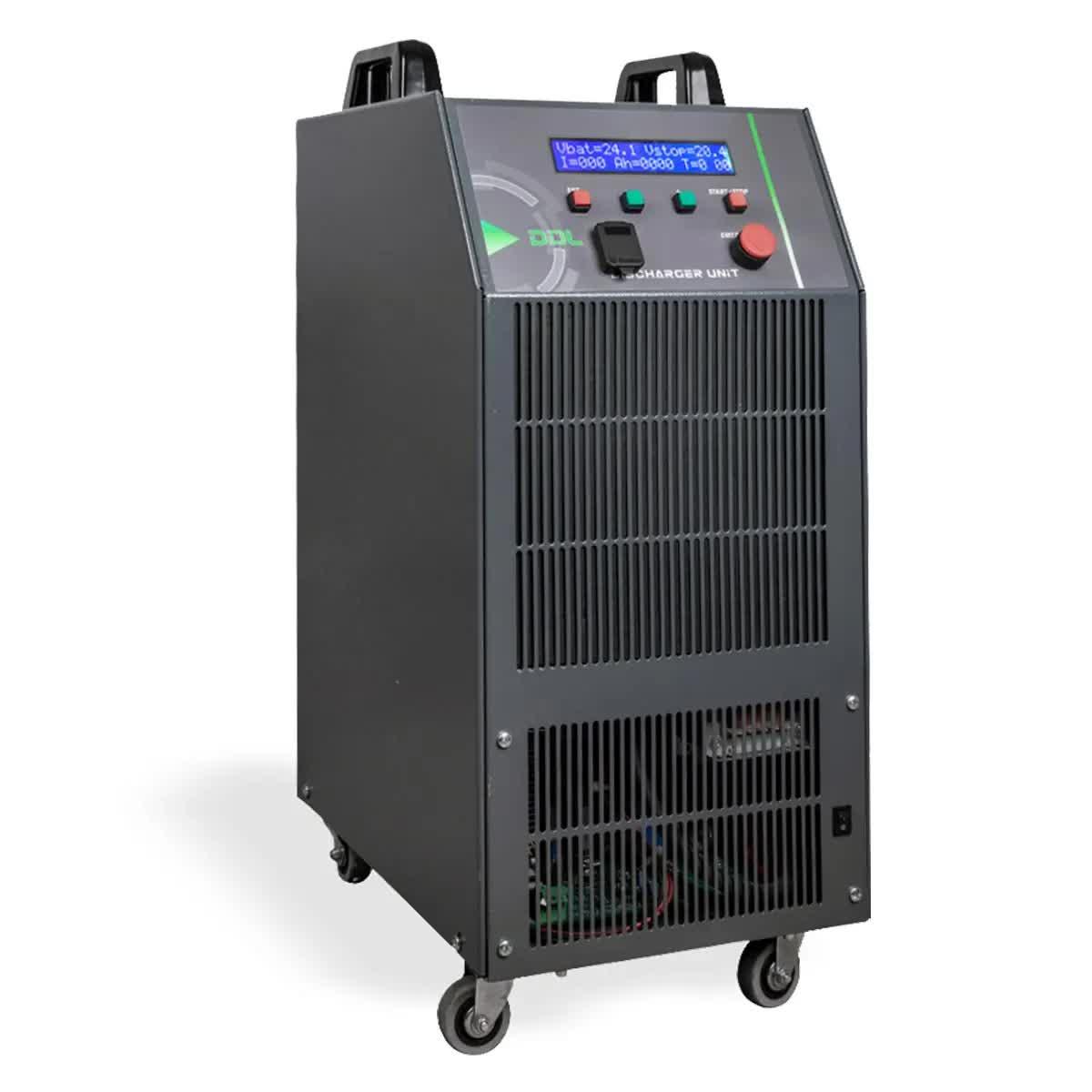 Diagnóstico de baterías industriales, Brescia, Italia, ATIB Elettronica
