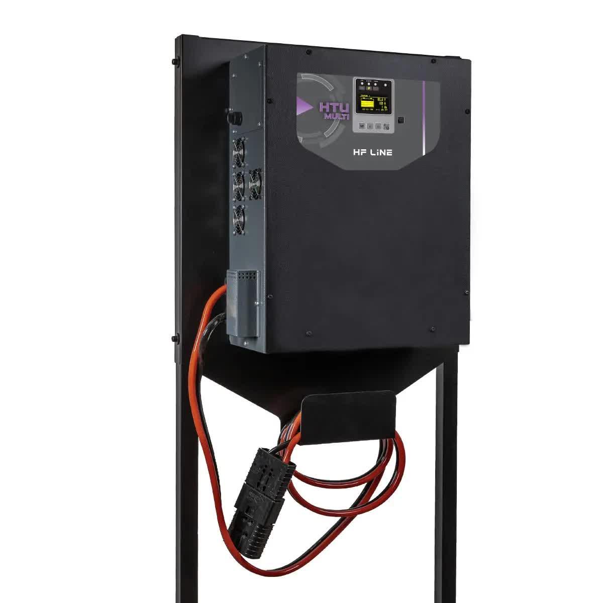 Cargadores de baterías para montacargas, Brescia, Italia, ATIB Elettronica